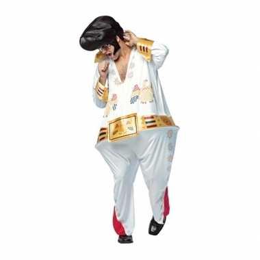 Heren dikke popster kostuum