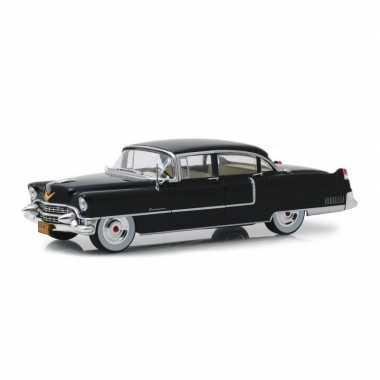 Modelauto cadillac fleetwood 60 special the godfather 1955 zwart schaal 1:24/24 x 8 x 6 cm
